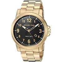 Michael Kors Men's Paxton Gold-Tone Watch MK8555