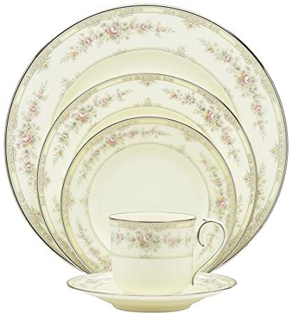 Amazon.com | Noritake Shenandoah 20-Piece Dinnerware Place Setting ...