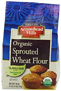 Amazon.com : Arrowhead Mills Sprouted Wheat Flour, 28