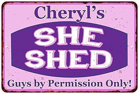 Amazon Com Chico Creek Signs Cheryl S Purple Pink She