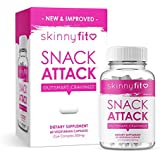 SkinnyFit Snack Attack Natural Metabolism Booster, Healthy Weight, Natural Energy and Help Curb Cravings (60 Vegan…