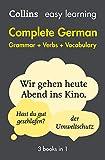 Complete German Grammar Verbs Vocabulary