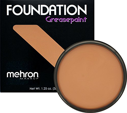 Mehron Makeup Foundation Greasepaint- MEDUIM MALE- 1.25oz.