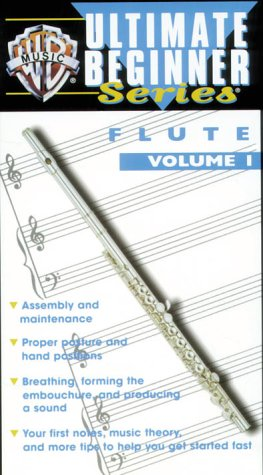 Ultimate Beginner Series: Flute 1 [VHS]