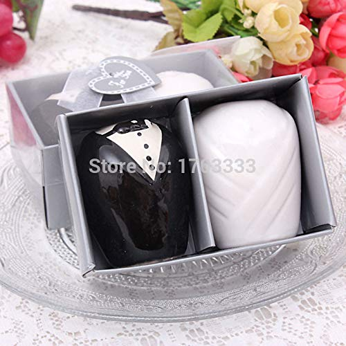 Bride And Groom - Bride And Groom Salt Pepper Shakers Party Favors Wedding Gifts 250set 500pcs Tf64 - Cups 2019 Initial Pajamas Bags Cookie Hangers Accessories Cookbook Forever -