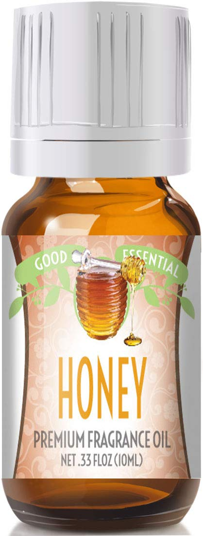 Honey Scented Oil by Good Essential (Premium Grade Fragrance Oil) - Perfect for Aromatherapy, Soaps, Candles, Slime, Lotions, and More!