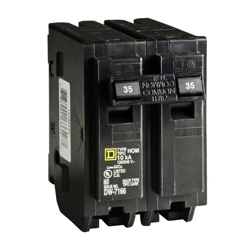 Pole 35 Amp (Square D by Schneider Electric HOM235CP Homeline 35-Amp Two-Pole Circuit Breaker)