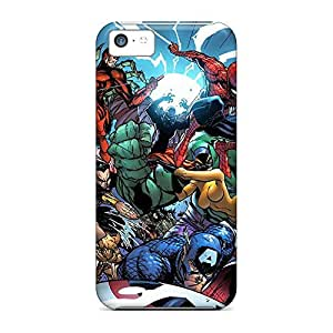 Hot Style phone case cover colorful Appearance iphone 5c case 6p - marvel universe