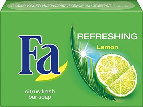 Fa Refreshing Lemon Festseife, 3er Pack (3 x 100 g)