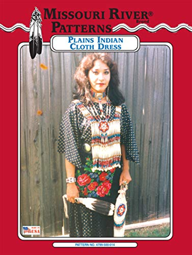 Plains Indian Cloth Dress Pattern,Adult