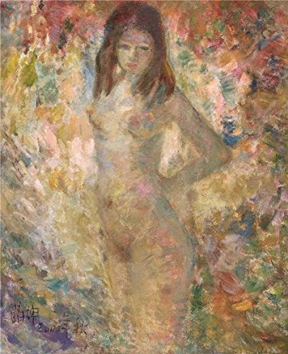 The Perfect Effect Canvas Of Oil Painting 'Nude Woman' ,size: 8x10 Inch / 20x25 Cm ,this Best Price Art Decorative Canvas Prints Is Fit For Bar Gallery Art And Home Artwork And Gifts