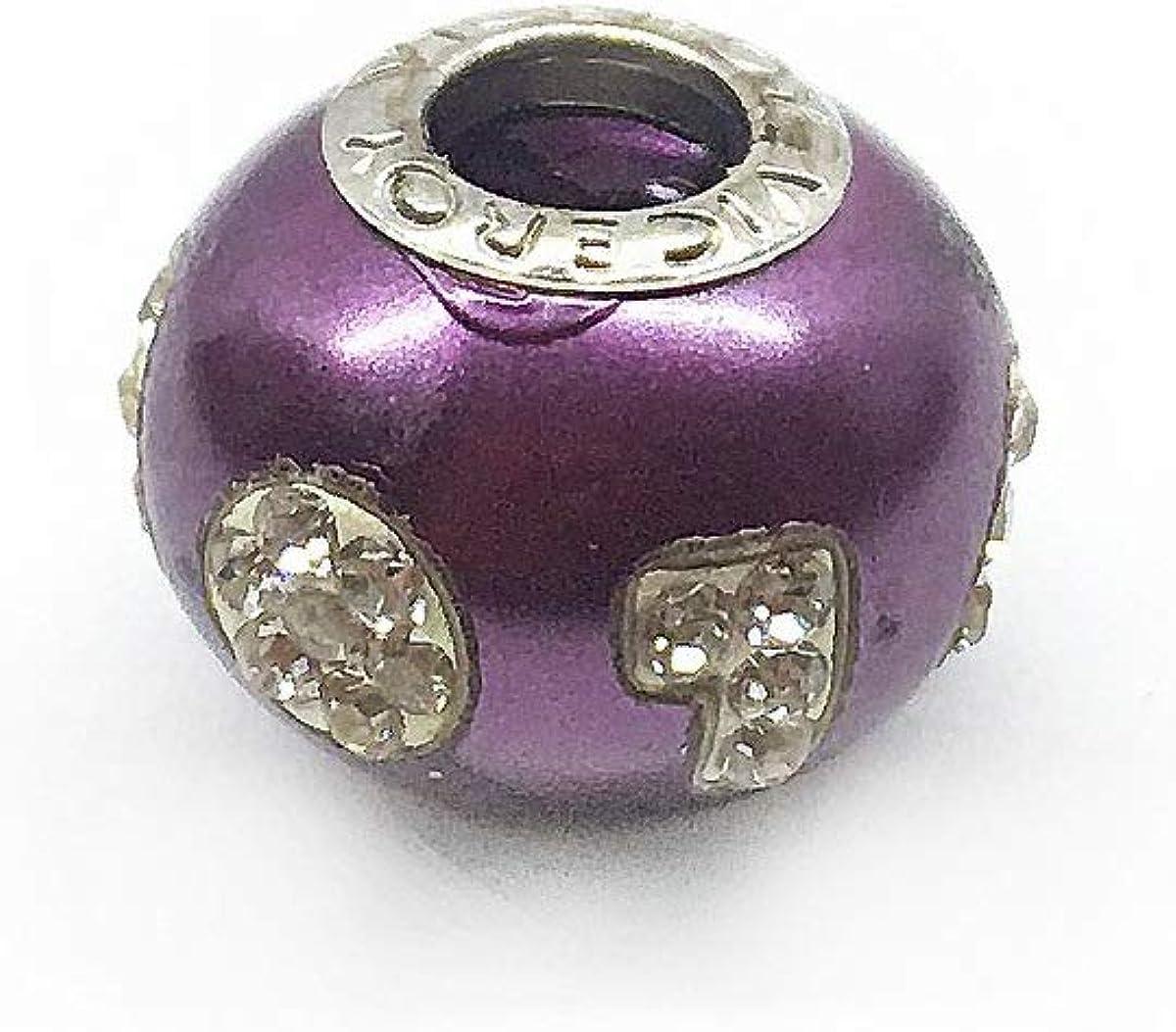 Viceroy VMB0031-27 Pendant Purple 925 Sterling Silver Woman 1CM Size