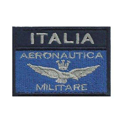 Aufnäher  Italienische  Luftwaffe Frecce Tricolori  ca 10 x 7,5 cm