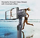 World-class Professional Stabilization System JJ-1S 3-Axis Handheld Gimbal Stabilizer for Smartphone Handheld Stabilizing Gimbal for Smartphone Support iphone or android smartphone