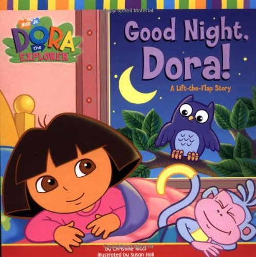 Good Night, Dora!: A Lift-the-Flap Story (Dora the Explorer)