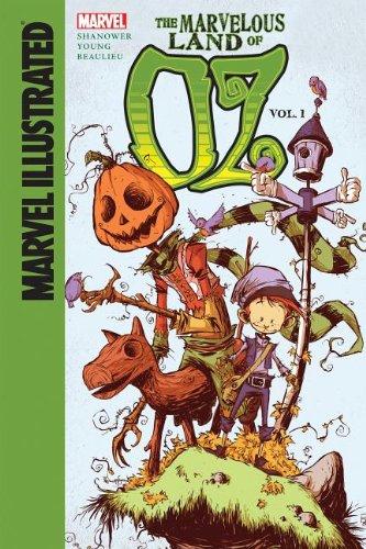 Marvel Illustrated the Marvelous Land of Oz 1