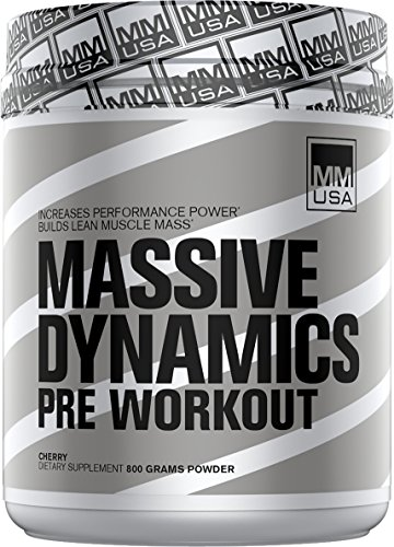 Muscle Builder (Massive Dynamics) MMUSA Mens Bodybuilder, Muscle Power, Stamina and Energy. Creatine + Beta Alanine for Maximum Strength -
