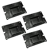 Porter Cable PCB575BG Bench Grinder Replacement (4 Pack) Base Cover # 5140072-82-4pk