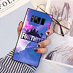 """Phone Case Fit Samsung Galaxy S8 Plus 6.2"""" Cube Fortnite Game Battle Royale Kevin Butterfly Explosion"""