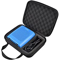 Poschell Hard EVA Case Bag Protective Shockproof Case Box for Bose Soundlink Color Wireless Bluetooth Speaker and Power Adaptor