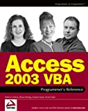 img - for Access 2003 VBA Programmer's Reference book / textbook / text book