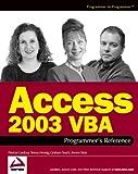 Access 2003 VBA Programmer's Reference, Patricia Cardoza and Teresa Hennig, 0764559036