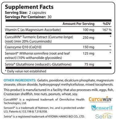51QMRtVpkPL - BioTrust Ageless Body Anti-Aging Supplement   Turmeric Curcumin Extract, CurcuWIN, Vitamin C, CoQ10   Combats Cellular Aging   Non GMO, Soy Free & Gluten Free Formula   60 Capsules