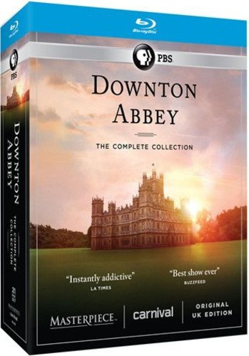 Top Costumes Dramas Of All Time - Downton Abbey: The Complete Collection