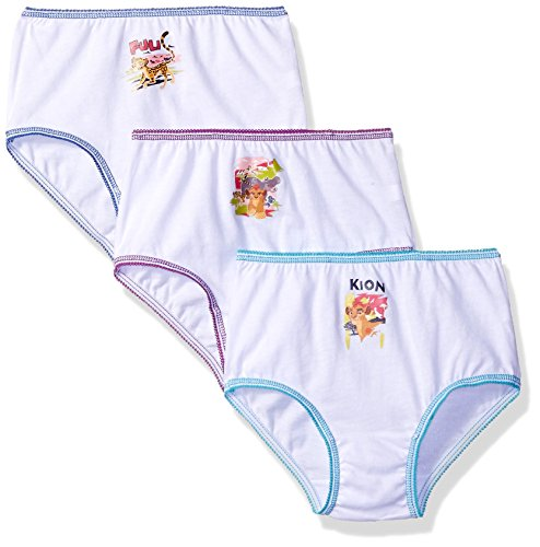 Price comparison product image Disney Girls' Toddler Girls' Lion Guard 3 Pack Panty,  Assorted,  2 / 3T