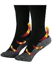 Ilucky Calcetines Calientes Climatizada para Hombre y Mujer Pies Crónicamente Fríos Calentador de Pies Ideal para