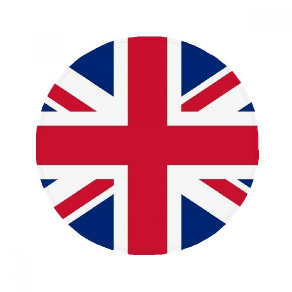 60X60cm DIYthinker UK National Flag Europe Country Anti-Slip Floor Pet Mat Round Bathroom Living Room Kitchen Door 60 50Cm Gift