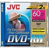 JVC VDW-28DU Double-sided Mini Rewritable DVD-RW for Sony Handycam