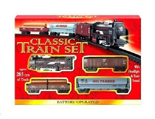 Classic Train Set con binari a batteria Classic Train Set 285cm TRACK