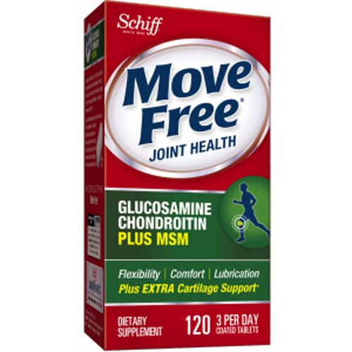 Free Coated Tablets - Wholesale Schiff Move Free Total Joint Health - 1500 mg - 120 Coated Tablets, [Health Supplements, Vitamins]
