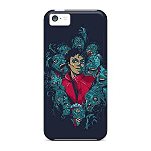 Cute Appearance Covers/zwS25602VMvY Michael Jackson Zombies Cases For Iphone 5c