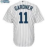 Brett Gardner New York Yankees #11 MLB Men's Cool Base Home Jersey (XXlarge)