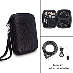 Endoscope Case, TyhoTech Borescope Camera Case for Depstech USB Endoscope, also for Goodan, Shekar, Pancellent, Fantronics, Sokos