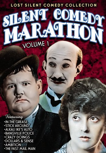 Silent Comedy Marathon, Volume 1: In The Grease (1925) / Stick Around (1925) / Alkali Ike's Auto (1911) / Bangville Police (1913) / Crazy Doings (1929) / Dollars And Sense - Mall Dale