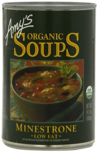 - Amy's Organic Minestrone Soup 14.1 Oz [Pack of 6] by Amy's Organic