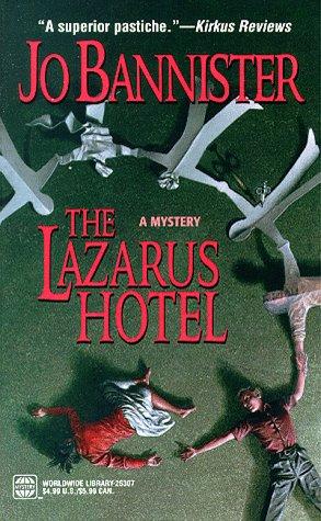 book cover of The Lazarus Hotel