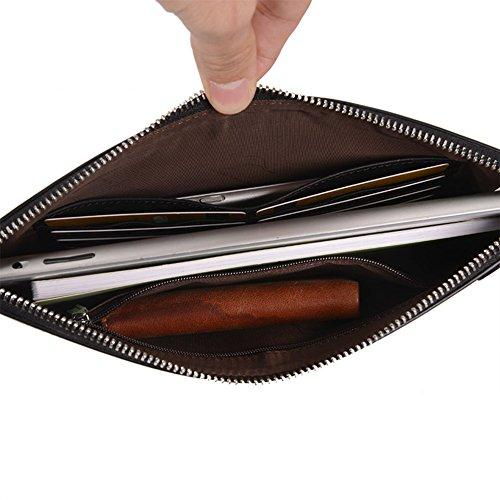 T Mezzanine Male Handbag 1 Fashion color Bag Business Briefcase Qidi Men's ApRqCw7