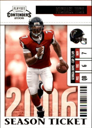 2006 Playoff Contenders Football Card  5 Michael Vick Near Mint Mint