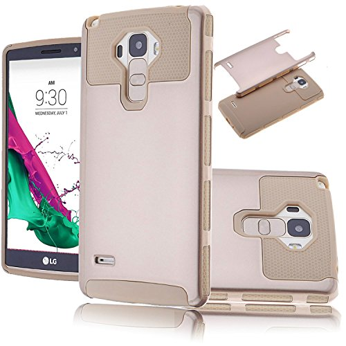 LG G Stylo Case,Lookly Premium Extra Slim Hybrid Shockproof Case, [TPU +  Soft Silicone] Protective Case Cover for LG G4 Stylus LS770 / LG G Stylo