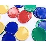 Lot 500 jetons/disques/jetons de poker/jetons pour buvette/4couleurs