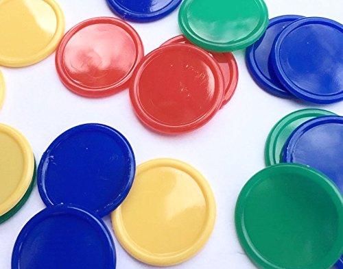 500fichas de póquer, para bebidas, de 4colores de 4colores SSTNLTD