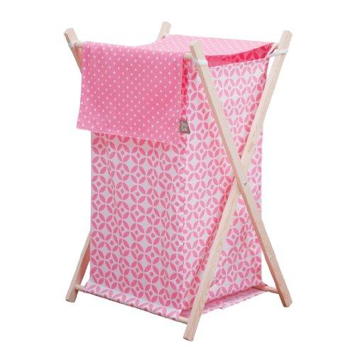 Trend Lab Lily Hamper Set, Pink by Trend Lab
