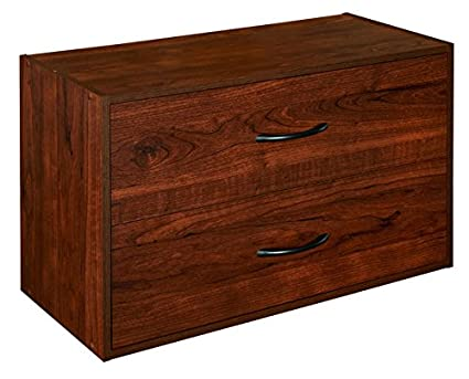 Completely new Amazon.com: ClosetMaid 1306 Stackable 2-Drawer Horizontal  TI37