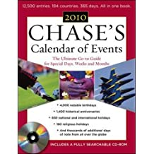 Chase's Calendar of Events, 2010