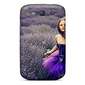 Awesome Fairy In Purple Flip Case With Fashion Design For Galaxy S3