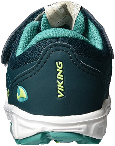 Viking Unisex-Kinder Trym GTX Outdoor Fitnessschuhe Grün (Green/Lime)